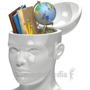 ID# 5963 - Education In Mind - Presentation Clipart