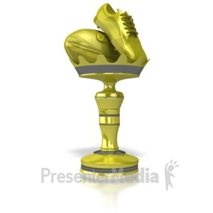 ID# 5975 - Rugby Trophy - Presentation Clipart