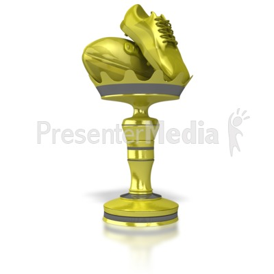 Rugby Trophy PowerPoint Clip Art