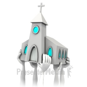 ID# 5990 - Church Stewardship - Presentation Clipart