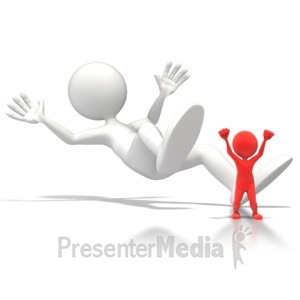 ID# 6006 - Toppled Giant - Presentation Clipart