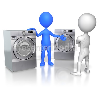 Sales Figure Selling Appliances PowerPoint Clip Art