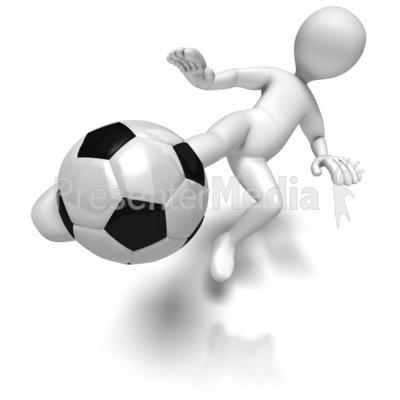 Presenter media powerpoint templates 3d animations and clipart id 6087 stick figure kicking soccer ball presentation clipart toneelgroepblik Gallery