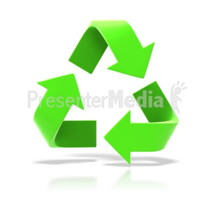 Recycle Symbol PowerPoint Clip Art