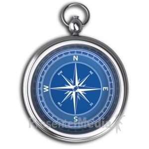 ID# 6244 - Plain Compass No Dial - Presentation Clipart
