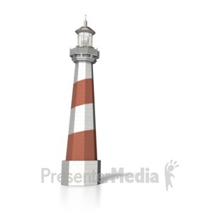 ID# 6245 - Lighthouse - Presentation Clipart