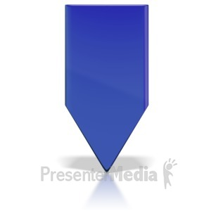 ID# 6280 - Colored Indicator Marker - Presentation Clipart