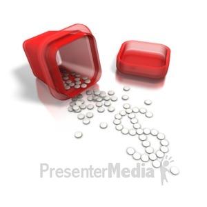 ID# 6296 - Medical Money Machine - Presentation Clipart