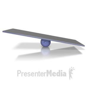 ID# 6313 - Balance Bar Tipped - Presentation Clipart