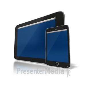 ID# 6444 - Wireless Devices - Presentation Clipart