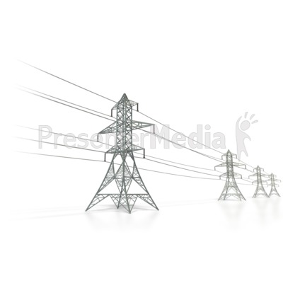 Presenter media powerpoint templates 3d animations and clipart id 6460 power transmission lines presentation clipart toneelgroepblik Gallery