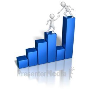 ID# 6543 - Profit Gap Help - Presentation Clipart