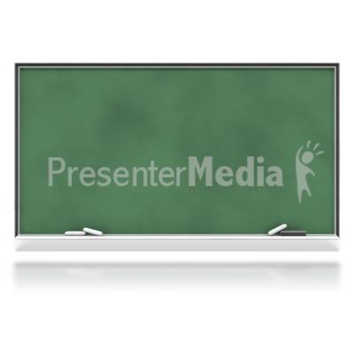 Blank Chalkboard PowerPoint Clip Art