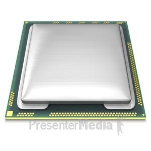 ID# 6730 - Computer CPU - Presentation Clipart