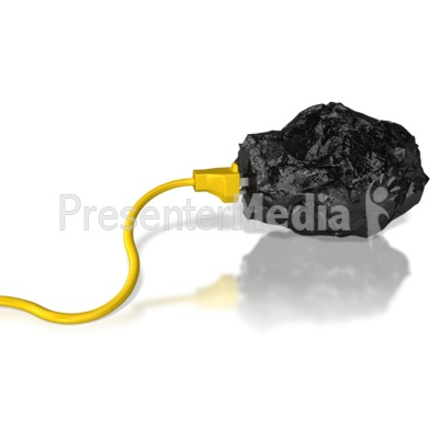 Coal Energy Power Extract PowerPoint Clip Art