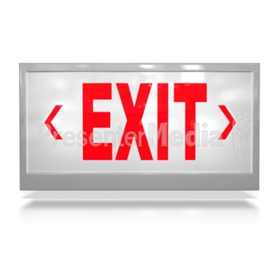 Exit Door - Presentation Clipart - Great Clipart for Presentations ...