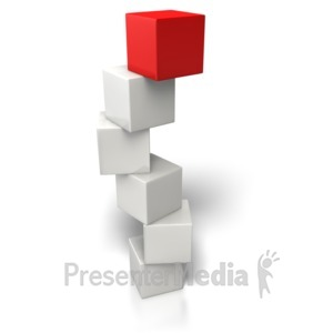 ID# 6919 - Top Box Stand Out - Presentation Clipart