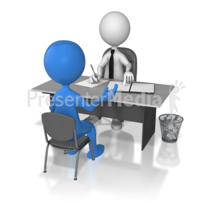 One On One Interview  PowerPoint Clip Art