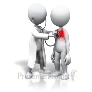 ID# 7075 - Patient With Heart Trouble - Presentation Clipart