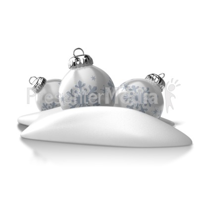 Winter Ornaments PowerPoint Clip Art