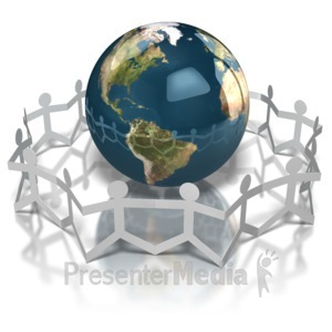 ID# 7162 - World Unity - Presentation Clipart