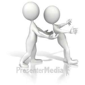 ID# 7204 - Trust Me - Presentation Clipart
