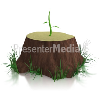 Don't Give Up / New Growth PowerPoint Clip Art