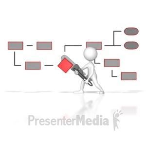 ID# 7366 - Creating A Better Process - Presentation Clipart