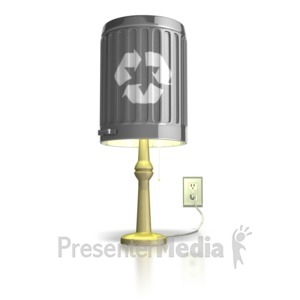 ID# 7523 - Converting Waste To Energy - Presentation Clipart
