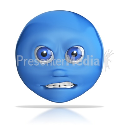 Mad Emotional Head  PowerPoint Clip Art