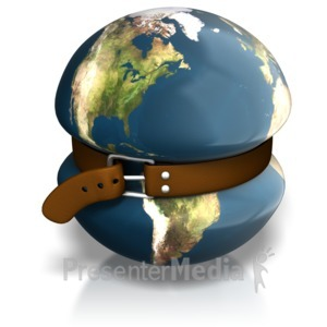 ID# 7668 - Earth Tighten Belt - Presentation Clipart