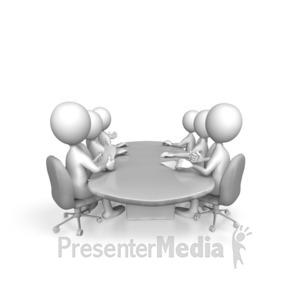 ID# 7669 - Conference Presentation - Presentation Clipart