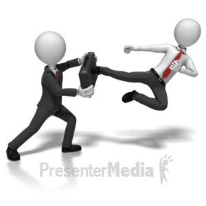 ID# 8148 - Business Competition - Presentation Clipart