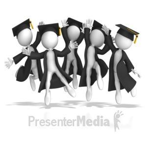 ID# 8157 - Graduation Day - Presentation Clipart