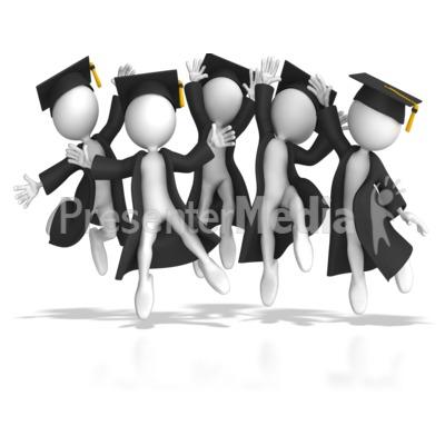 Graduation Day PowerPoint Clip Art