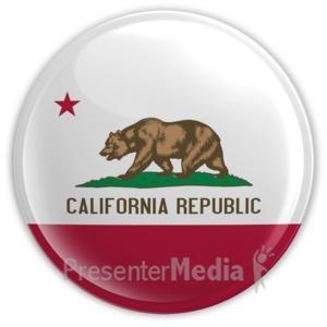 ID# 8306 - California - Presentation Clipart