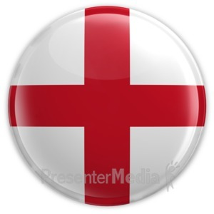 ID# 8339 - Badge of England - Presentation Clipart
