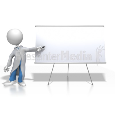 Presenter media powerpoint templates 3d animations and clipart id 8442 doctor or nurse presenting blank board presentation clipart toneelgroepblik Images