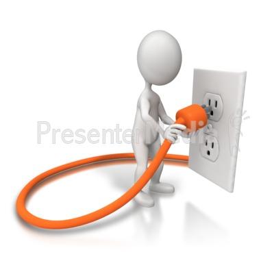 Cords Outlets Clip Art