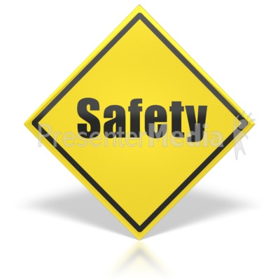 Safety Sign PowerPoint Clip Art