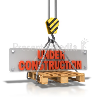 Hook Carrying Construction Plate PowerPoint Clip Art