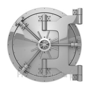 ID# 8627 - Locked Vault - Presentation Clipart