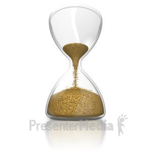 ID# 8758 - Hourglass - Presentation Clipart