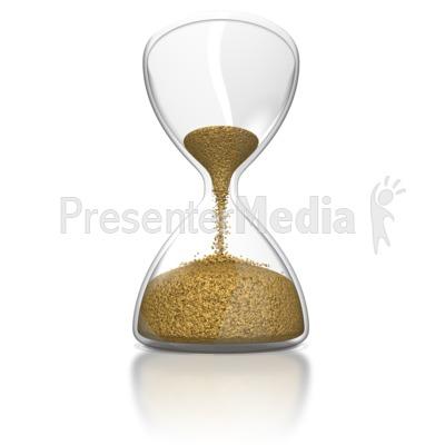 Hourglass PowerPoint Clip Art