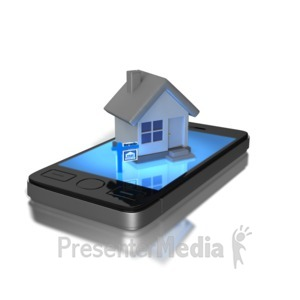 ID# 8828 - Mobile  Real Estate - Presentation Clipart