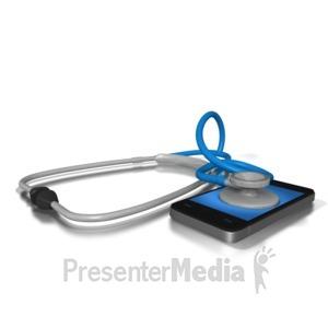 ID# 8843 - Mobile Health - Presentation Clipart