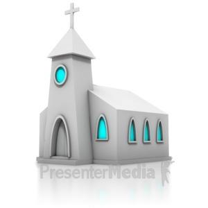 ID# 8894 - Church - Presentation Clipart