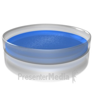 ID# 8926 - Petri Dish - Presentation Clipart