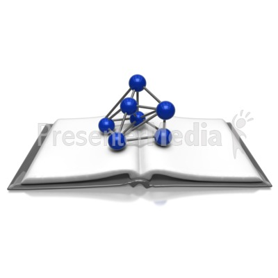 Science Book PowerPoint Clip Art