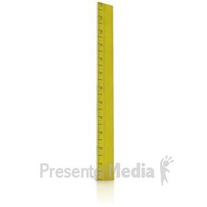 ID# 8998 - 12 Inch Ruler - Presentation Clipart